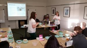 Kate and Sofie pot noodle workshop